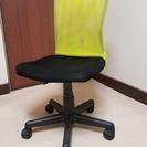 椅子 オフィス用家具 中古 ブラック×グリーン