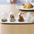 【食卓のインテリアに☆】調味料入れ アニマル シーズニングシェイカー