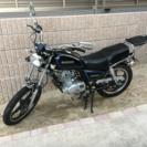 gn125h 125cc スズキ カスタムの画像