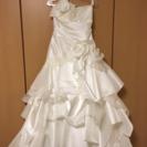 ウエディングドレス ソフトマーメイド 13-15号サイズ