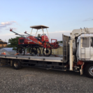 全国対応 ルート陸送特殊部隊 農機具 建設機械 ユンボ トラクター 田植え機 輸送 回送サービス - 青森市
