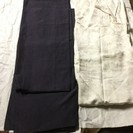 【お取引完了】箪笥にあったしつけ付きの紬の着物&襦袢と昭和?レト...