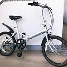 『ワイルドロッキー』20インチ折り畳み自転車☆6段変速☆