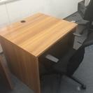木製デスク オフィス