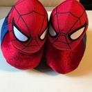 スパイダーマンの室内履き