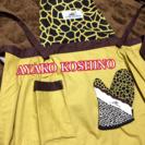 アヤココシノのエプロンと鍋つかみセット 新品未使用の画像