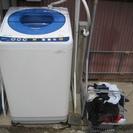 余裕の6K洗 インバーター制御パナソニックの全自動洗濯機 中古