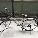27インチ 自転車 白