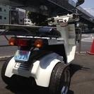 ジャイロX 白 ミニカー仕様 - バイク