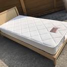 062000 シングルベッド マットが綺麗です!