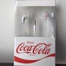 ◆新品未開封★コカコーラ★イヤホン★ホワイト★非売品レア★