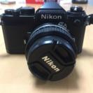 ニコンFE フィルムカメラ 美品です!値下げしました!