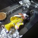 コムサ の携帯ストラップ 京女 和装 和服 着物