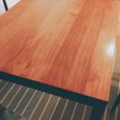 北欧風 チーク無垢材 ダイニングテーブル