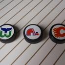 NHLロゴパック型マグネット (アイスホッケー,磁石,中古)