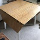 両側折りたたみテーブル