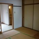 昭和レトロ感あふれるアパート 静かな環境のエリア  部屋を DIY 可能