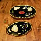 イタリアンな大きなお皿で華やかな食卓を!