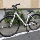 【値下げ!】アルミフレーム7段変速クロスバイク