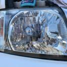 ヘッドライト磨き 及び 「ヘッドライト再生」