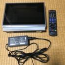 ポータブルテレビ VIERA BDプレーヤー搭載