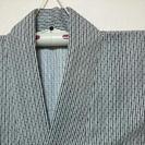 身丈134 裄丈66 未使用 男物 浴衣 日本製 ★4 着物 古今...