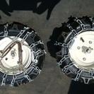 家庭用小型除雪機 小型耕運機などに使用するタイヤ