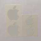 Appleロゴシール大小2枚セット