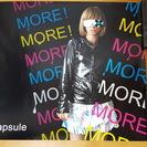 CAPSULE MORE!MORE!MORE! ポスター …