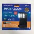 未使用 Wi-Fi ワイファイ ホームルーター NEC PA-W...