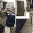 紳士物―大島紬、正絹紬アンサンブル、絞りの兵児帯、羽織紐ーお取引中