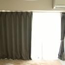 一間半用のニトリのカーテン(レース共)遮光2級 美品