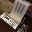 ファックス 子機コードレス電話 中古 難あり  商談中