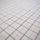 綿の夏用ラグマット カーペット アイボリー 白