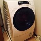 サンヨードラム式洗濯乾燥機AWD-AQ380-R 9/6kg価格交渉可