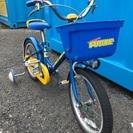 中古 子供用自転車 16インチ 補助輪付き