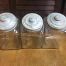 骨董品 駄菓子屋のガラス瓶