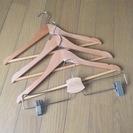 ニトリ&イケアの木製ハンガーセット