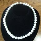 淡水パール ホワイト、10mm珠です。