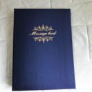 ゲストブック メッセージブック アニヴェルセル挙式予定の方♡