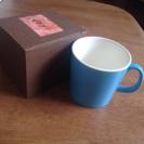 【取引中】【未使用!】綺麗な水色のマグカップ