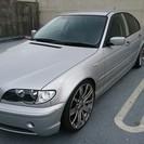 BMW 318 E46 後期型19インチアルミ イカリング ウッ...