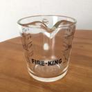 ファイヤーキング メジャーカップ  1カップ アンティーク