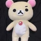 【コリラックマ】リラックマキリッとぬいぐるみXL 500円