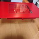 折りたたみローテーブル(小物引き出し)