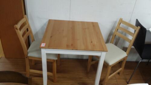 Ikeaダイニングテーブル2人掛け 食卓セット美品 One Style 住ノ江の