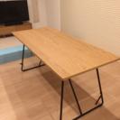 無印良品 折りたたみダイニングテーブル - 札幌市