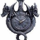 トリプルドラゴン掛け時計