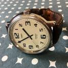 ●美品●TIMEX アナログ 腕時計 ビッグイージーリーダー