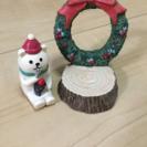 クリスマスの飾り☆